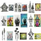 Castle Mushroom Fairy Silicone Clear Seal Stamp DIY Scrapbooking Embossing Album