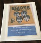 1964 Topps Beatles Black and White 2nd Series Trading Cards 6