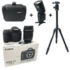 NEW Canon 7D Mk II + 18-135mm USM + Bag + Flash + Tripod - UK NEXT DAY DEL