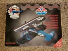 1997 GEARBOX WACO UBF BIPLANE ** AMOCO ** LIMITED EDITION DIE-CAST COIN BANK