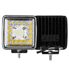 2PCS 4INCH 720W LED Spot Beam Cube Cree Fog Work Lights Pods Off Road SUV ATV