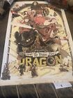 How to Train Your Dragon Patrick Connan 24x36 MINT Free Shipping