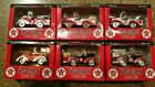 6 Texaco Petite Pedal Car series Complete Set new old stock