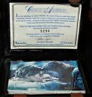 Titanic Movie Limited Edition Set Trading Card in the Suitcase with Certificate