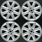Set 2002 2014 Mini Clubman Cooper OEM Factory Original Silver Wheels Rims 59364