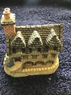 David Winter Cottages British Traditions Burns' Reading Room Box And COA