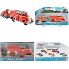 Fire Engine Truck & Cargo Car TrackMaster Fiery Flynn Motorized Toy Set Fun Kids
