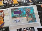 KOBE BRYANT SIGNATURE AUTOGRAPH CARD DAME USED MATERIAL L.A. LAKERS NBA