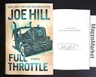 SIGNED New FULL THROTTLE By Joe Hill 1st Edition HCDJ AUTOGRAPHED