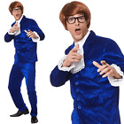 Adults Mens 60s Mr Mojo Austin Powers Groovy Fancy Dress Costume Outfit
