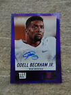 2014 Topps Chrome Superfractor Odell Beckham Jr Autograph Surfaces, Sells 15