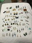56 Pairs Of Vintage Earrings Bulk Lot Free Grab Bag Of Jewelry With Purchase