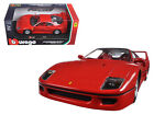 Ferrari F40 Red 124 Diecast Model Car Bburago 26016RD