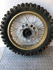 1985 1986 Honda CR250 CR500 CR125 CR 500 250 125 CR500r Rear Gold Wheel Rim Hub