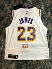Lebron James #23 Signed Autographed Los Angeles Lakers Jersey W COA