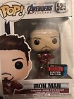 2019 NYCC EXCLUSIVE FUNKO POP! AVENGERS END GAME IRON MAN 529 LIMITED NICE