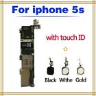 100 Original Motherboard for Apple iPhone 5S IOS Unlocked Mainboard Logic Board