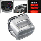 LED Brake Tail Light License Plate Lamp For HD Dyna Low Rider FXDL FXDLI  99-up