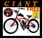 COMPLETE RED GIANT 50 80 CC GAS MOTOR ENGINE  26 BIKE BICYCLE MOPED SCOOTER