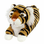 Tiger Slippers Big Cat Slippers with Orange and Black Stripes for Men