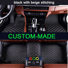 Car Floor Mats Only Fit For Jeep Cherokee 2013-2017 Waterproof Non-slip Car Mats