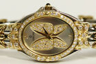 Ladies Concord Papillon Watch 18kt Yellow Gold and Stainless Diamond Bezel
