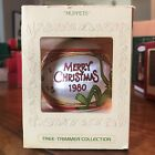 Muppets Hallmark Christmas Ornament Satin Tree Trimmer Collection Vintage 1980