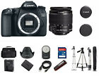 Canon 70D EOS DSLR Digital Camera with EF S 18 55mm IS 1894C002 + Tripod