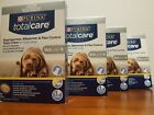 Purina total care Heartwormer Allwormer  fle Control Tasty Chew LARGE Dogs X4