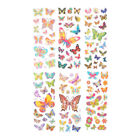 6 Sheets Lovely Butterfly Scrapbooking Bubble Puffy Stickers Reward Kids Toy PF