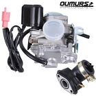 50cc Carburetor Intake Manifold Kit For GY6 139QMB 139QMA Scooter Moped ATV