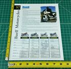 1997 Buell S1 Lightning S3 S3T Thunderbolt M2 Cyclone Color Brochure