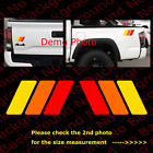 Toyota Retro Stripes Rainbow Vinyl Die Cut Decal 4runner Tacoma Fj Cruiser Ty009