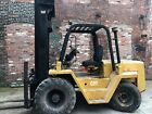 cat forklift, RC60T rough terrain forklift, 6,000 lbs. capacity.