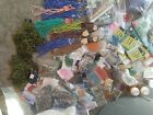 Large Glass Seed beads Lot Destash Jewelry Making Supplies Various sizes colors