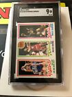 1980-81 Topps #139 Kolff, Julius Erving, Magic Johnson Rookie SGC 9 MT!!!! G