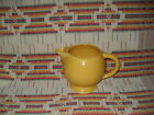 VINTAGE YELLOW FIESTA ICE LIP PITCHER FIESTAWARE     co19
