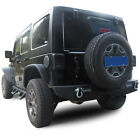 Rear Bumper for 2007 2016 Jeep Wrangler JK with 2 Receiver
