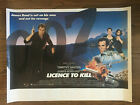 LICENSE TO KILL (1989) Timothy Dalton as James Bond 007 Original British Quad