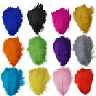 5 20 100pcs beautiful natural ostrich feather 6 24 inches 15 60 cm 13 colors