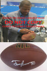 Troy Brown New England Patriots signed autographed NFL football, COA exact proof