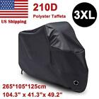 XXL Waterproof Motorcycle Cover Protector For Harley Softail Deuce Super Glide