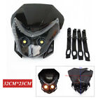 1*Motorcycle Motocross Headlight Fairing Light Dual Street Fighter HeadLamp Bulb