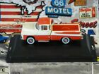 New Oxford Diecast Vehicles 1/87 Scale HO 1957 Dodge D100 Sweptside P/U Red/Wht