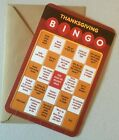 Thanksgiving BINGO Greeting Card w Envelope by American Greetings New Unused