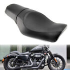 Motorcycle Driver Passenger Two Up Seat for Harley Sportster XL 883 1200 Custom