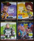 TOY STORY 1 2 3 4 - COMPLETE SET OF 4K UHD BLU-RAY