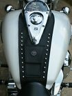 Honda VTX 1300 C S T R Retro Tank Bib Pocket, Studs, YOU CHOOSE EMBLEM