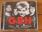 2 CD GBH Dead on Arrival: Punk Rock Anthology (50 greatest hits/very best of/Oi!