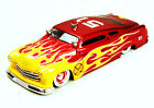 1951 Mercury Fire Dept Car 51 Red w Flames Jada 92455 1 24 Scale Diecast Car
